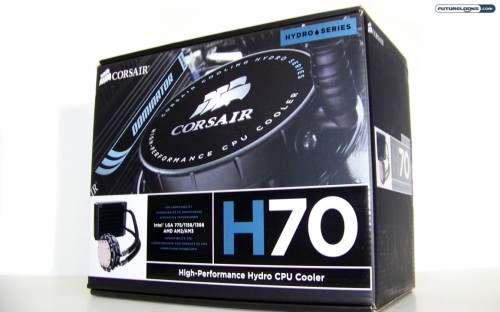 CORSAIR Hydro Series H70 High Performance CPU Cooler Review