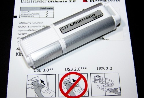 Kingston DataTraveler Ultimate 3.0 32GB Flash Drive Review