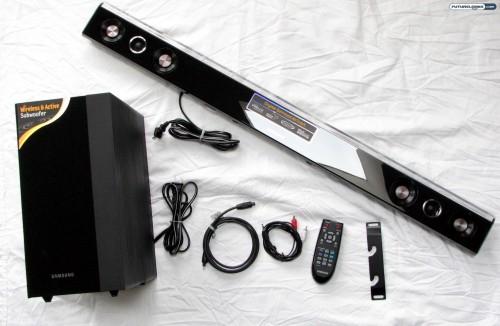 samsung hw c450 2 1 channel audio bar home theatre system review rh futurelooks com samsung hw-c450 soundbar setup samsung hw-c450 soundbar setup