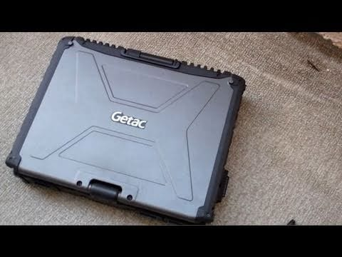 Video - Futurelooks Unboxes the GETAC V100 Rugged Convertible Tablet PC