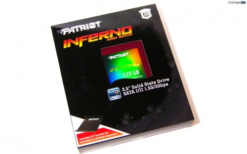 Patriot Memory 120GB Inferno Solid State Drive Review