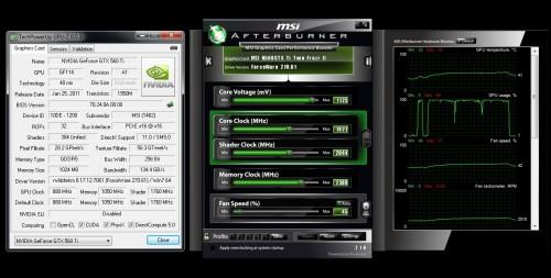 MSI N560GTX-Ti nVidia GTX 560 Ti HAWK Edition Video Card Review