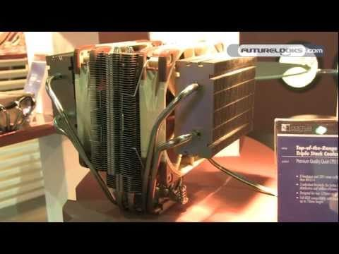 COMPUTEX 2011 - Noctua Shows Off Potential New CPU Coolers and the Most Scientific Fan You'll Ever See (Video)
