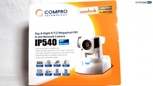 Compro IP540 Infrared IP Camera with Seedonk Technology Reviewed