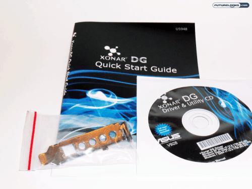 ASUS Xonar DG 5.1 Channel PCI Sound Card Review
