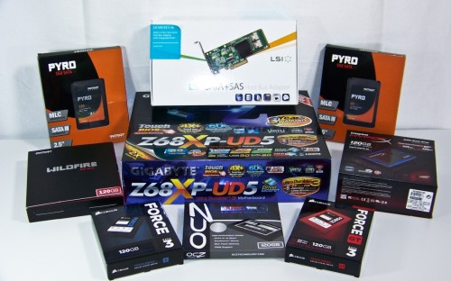 Futurelooks' SATA3 Solid State Drive Round Up Featuring Corsair, Kingston, Patriot Memory and OCZ