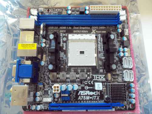 ASRock A75M-ITX FM1 Mini-ITX Motherboard Review