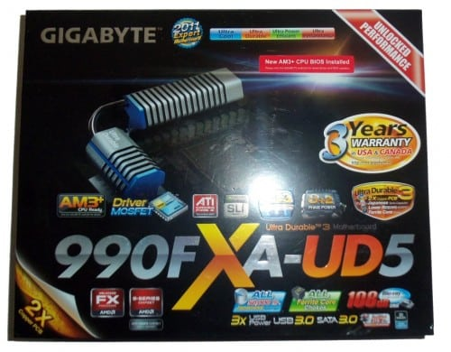 GIGABYTE 990FXA-UD5 AM3+ ATX Motherboard Review