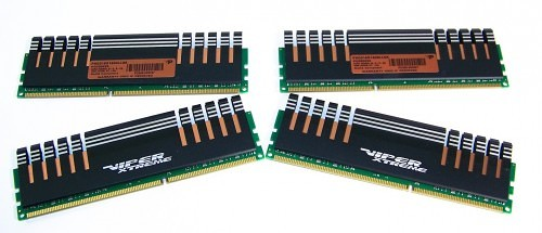 Patriot Memory Division IV Viper Extreme 16GB 1600MHz DDR3 Quad Channel Memory Kit Review