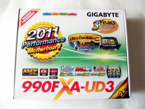 GIGABYTE GA-990FXA-UD3 AM3+ ATX Motherboard Review