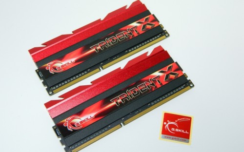 G.SKILL TridentX  2400MHz 8GB DDR3 Dual Channel Memory Kit Review