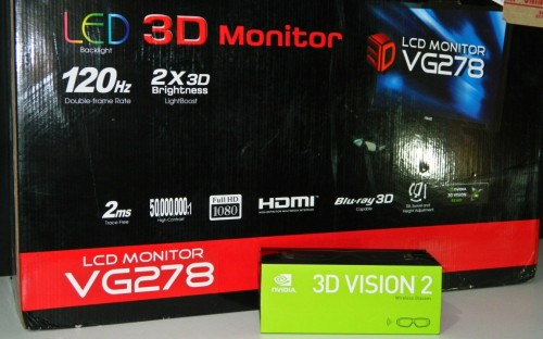 Reviewing the NVIDIA 3D Vision 2 Experience Featuring the ASUS VG278H 120Hz LCD Monitor 3D Bundle
