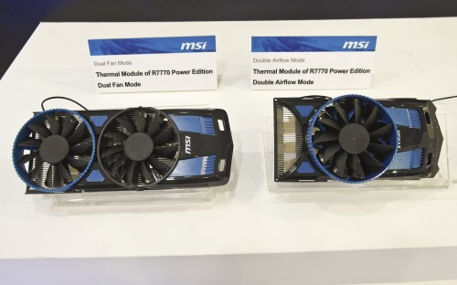 COMPUTEX 2012 - MSI Rides AMD's Trinity Train, Offers more Overclocking to Z77 and X79, Plus Updates to nVidia and AMD GPUs