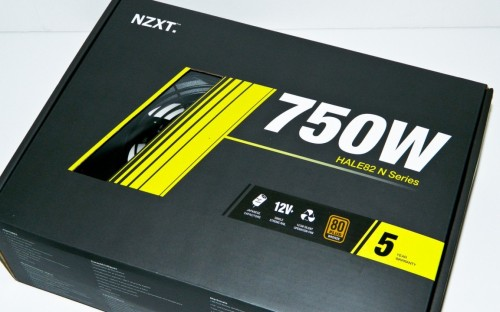 NZXT HALE82 N Series 750 Watt ATX Power Supply Review