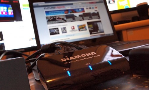 Diamond Multimedia Dual View DV100 USB 3.0 Dual Display Graphics Adapter Review