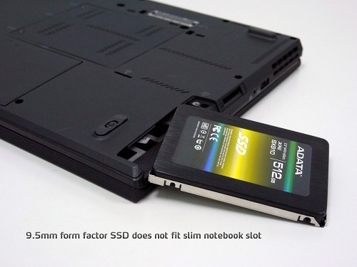 ADATA's Innovative Way of Dealing With Thinner and Slimmer SSDs