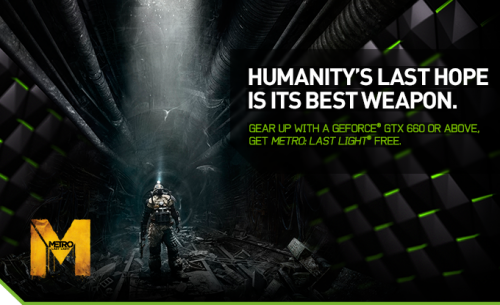 Nvidia Adds More Value to their GPUs With Metro: Last Light