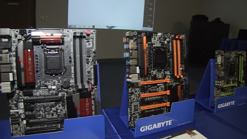 "Coverage of GIGABYTE's INTEL ""Haswell"" Z87 Series Motherboard Launch (Video)"