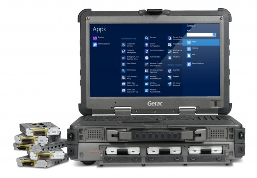 GETAC's New X500 is a Full Server in the Body of a Ruggedized Notebook
