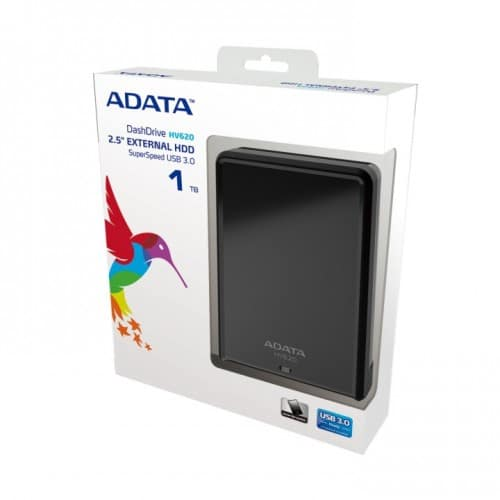 ADATA Launches Thinner Portable USB 3.0 External Hard Drive Series