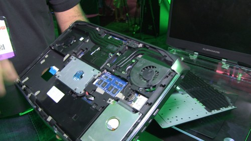 2013 E3 Expo Video Flashback - Alienware Gaming Notebooks Get Completely Redesigned