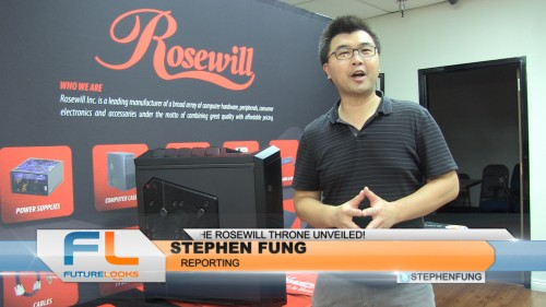 The New Rosewill Throne Full Tower PC Chassis Overview (Video)