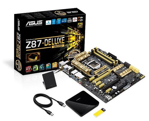 The ASUS Z87-Deluxe/Quad is the First Thunderbolt 2 Certified Motherboard in the World