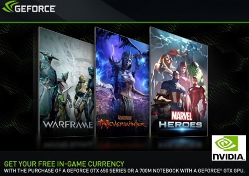 PAX Prime 2013 - NVIDIA Announces New Free to Play Bundle With Purchase of GeForce GTX GPUs