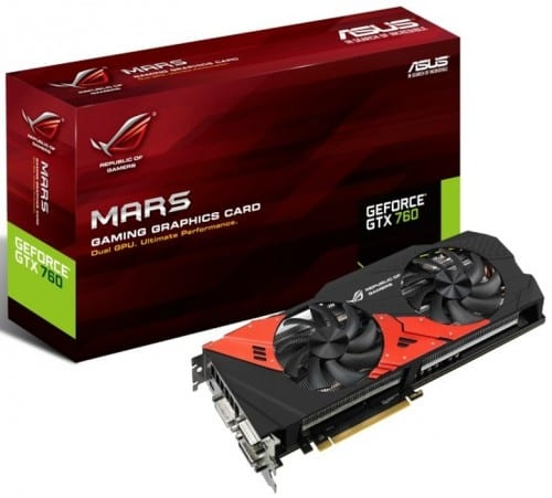 The ASUS ROG MARS 760 Graphics Card - Two GTX 760s. One Unique Package.