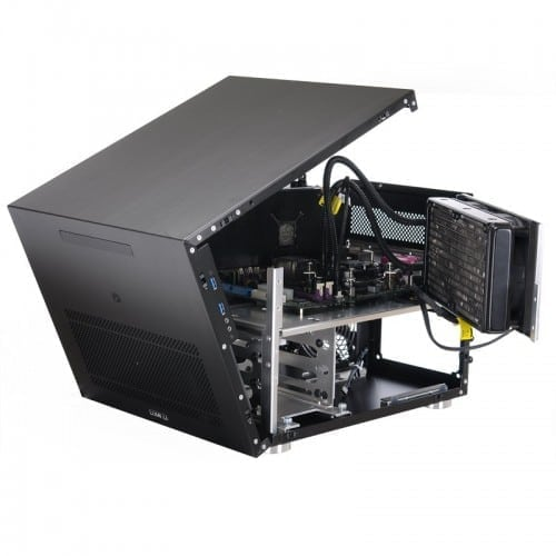The Lian Li PC-V358 Case Offers Small Size without Compromise