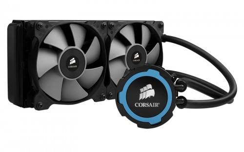CES 2014 - The Corsair Hydro H105 Liquid Cooling System Makes a Splash with the Press