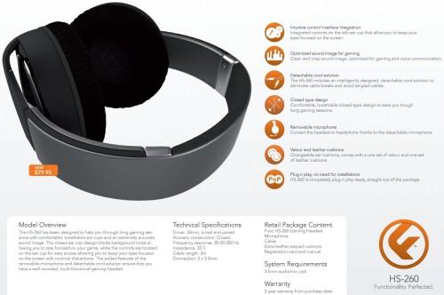 FUNC HS 260 Gaming Headset 20