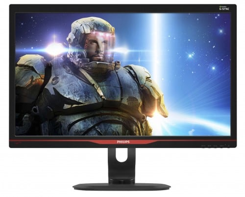 "CES 2014 - Philips Embraces NVIDIA G-Sync in New 27"" Gaming Monitor"