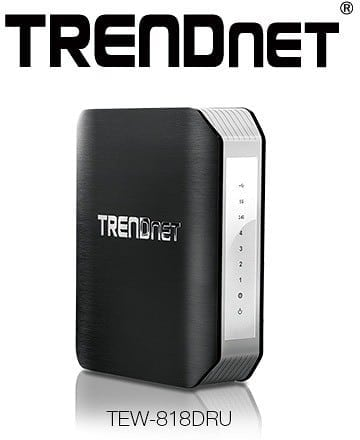 CES 2014 - TRENDnet TEW-818DRU AC1900 Wireless Router to Offer Extreme Wireless Coverage