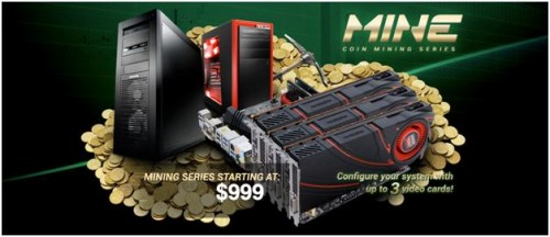 iBUYPOWER CoinMine Series is Aimed at Crypto-Currency Craze