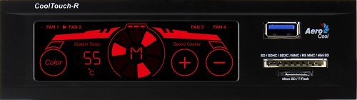 Aerocool Releases New Touch Friendly Fan Controller
