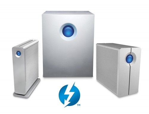 LaCie Wants to Shove 5TB down Your Thunderbolt Port