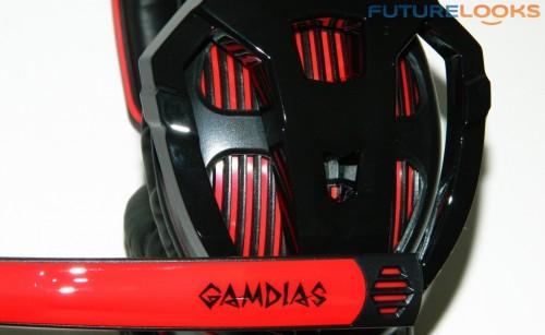 GAMDIAS EROS Surround Sound Gaming Headset 10