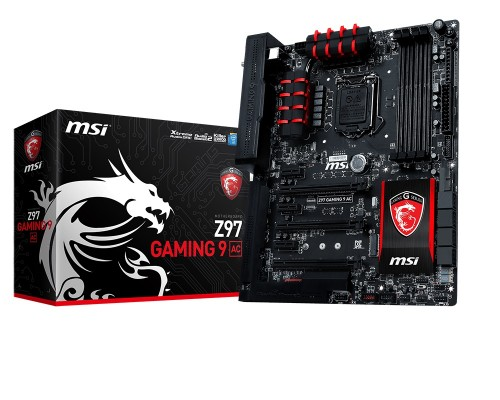 COMPUTEX 2014 - MSI Shows Off New Flagship Motherboard and Other Goodies