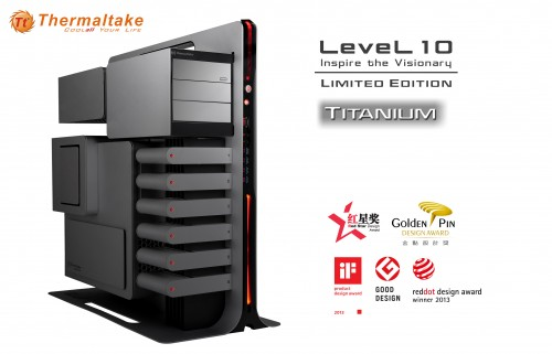 Pre-COMPUTEX 2014 - Thermaltake Re-Releasing Level 10 as Titanium Limited Edition
