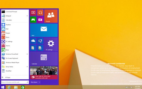 Windows 9 Merges Metro UI with Classic for a Whole New Look