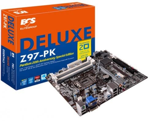 ECS Z97-PK Deluxe Brings the Most Out of Intel Pentium G Series