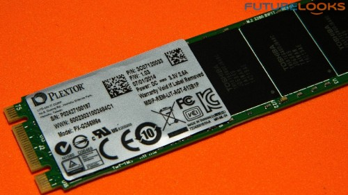 Plextor PX-G256M6e M.2 256GB PCIE SSD Review