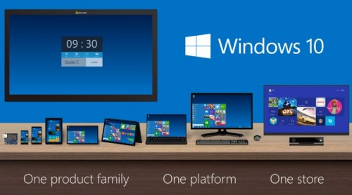 Say Hello to Windows 10 (Because 7 Ate 9)