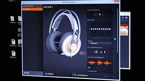 The SteelSeries Siberia Elite Prism Gaming Headset Reviewed (Video)