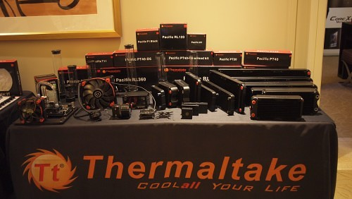 CES 2015 Coverage – Thermaltake Shows New Core X Series Cases, New Custom Liquid Cooling Products, and More (Video)