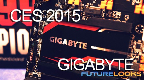 CES 2015 Coverage – GIGABYTE Shows X99 SOC Champion Motherboard, New BRIX S, and the Aorus X5 Gaming Notebook (Video)