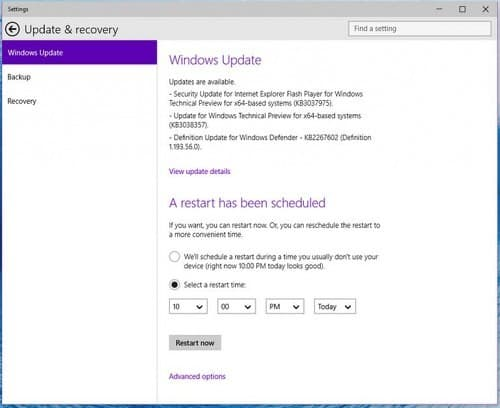 Windows 10 Ends Auto Update Restart Anger
