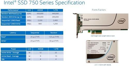 Intel SSD 750 PCIe Series 21