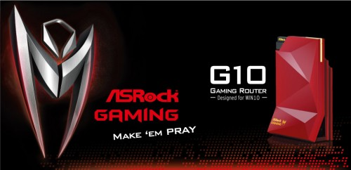"COMPUTEX 2015: ASRock Gaming Router Will ""Make 'Em Pray"""